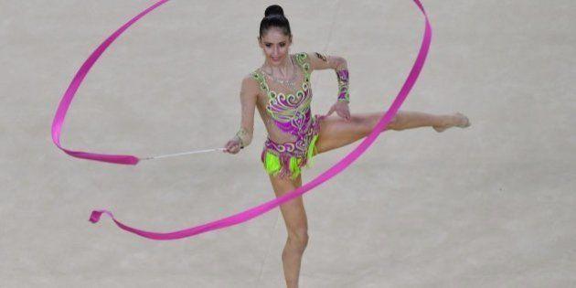 Neviana Vladinova se clasifica para la final de gimnasia rítmica al ritmo de David
