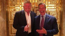 Trump inicia sus contactos con Le Pen y