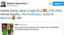 Los tuits de Rajoy en agosto: cuatro de sociedad, 17 de deportes, 0 de