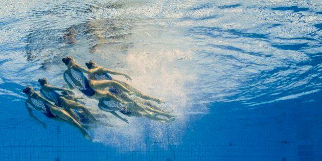 Siete fotos imposibles de la natación