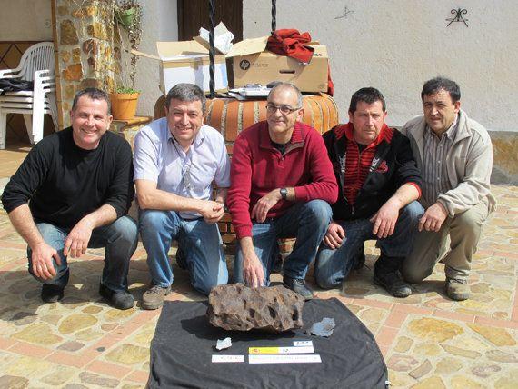 Un meteorito de 100 kilos, en un bar de