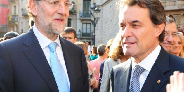 Rajoy y Mas se reunieron en secreto, coincidieron sobre el déficit y se enfrentaron por el derecho a