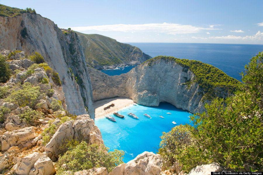 Navagio, en Grecia: directa a tu lista de playas más bonitas del mundo