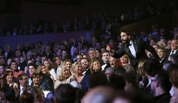 La espectacular apertura de la gala de los Goya 2016