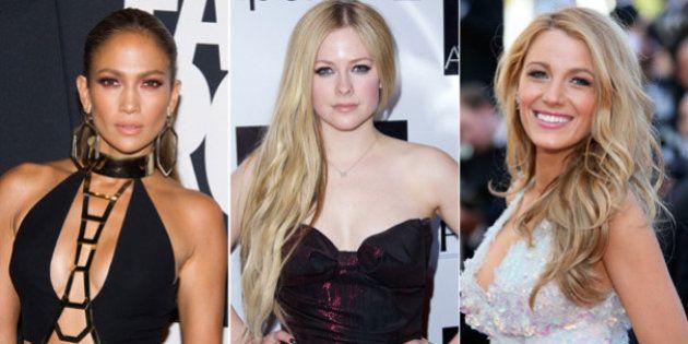 Jennifer Lopez, Blake Lively y Avril Lavigne: filtran sus fotos