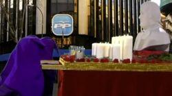 La procesión del padre Luis (Bárcenas) del gran