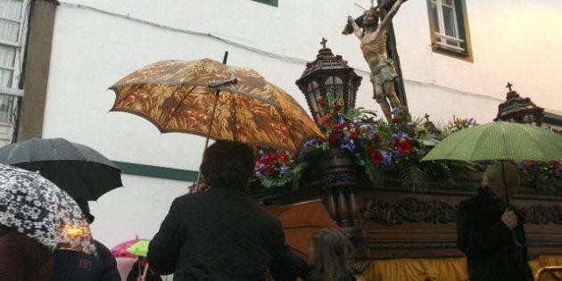Lluvia generalizada en toda España durante el resto de Semana