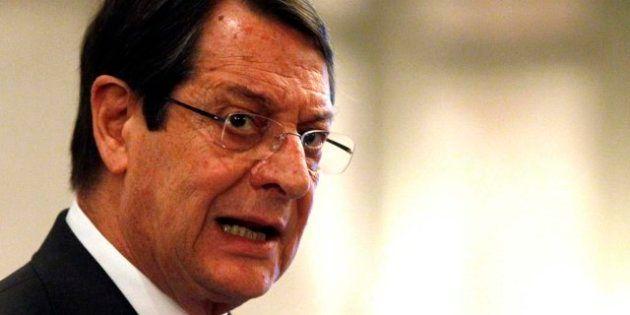 Anastasiades critica a la eurozona por convertir a Chipre en un