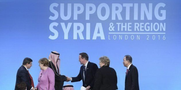 La conferencia de Londres se compromete con más de 10.000 millones para