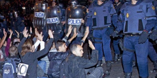 Los antidisturbios de la Policía Nacional lucirán su número de identificación en la