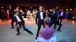 Esto no hay quien lo supere: el baile de boda de un bailarín profesional y sus amigos