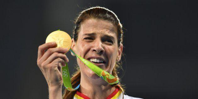 Ruth Beitia gana el oro olímpico en salto de
