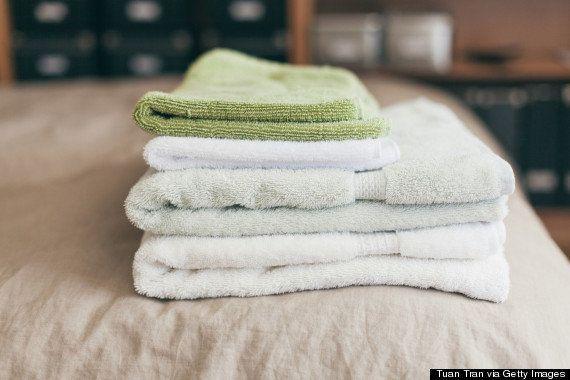Deberías lavar tus trapos y toallas con más frecuencia de lo que crees