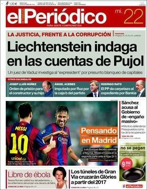 Revista de Prensa 22 de octubre: para tirarse de los
