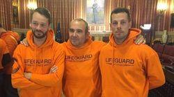 Los bomberos detenidos en Lesbos piden ayuda para pagar la