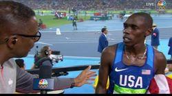 La reacción al saber en directo que ha sido descalificado tras ganar una