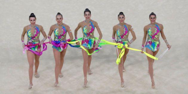 El equipo español de gimnasia rítmica gana la plata en los Juegos de