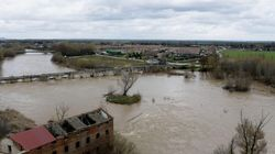 La crecida de los ríos activa la alerta en varios puntos de la