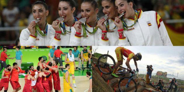 España cierra su participación en Río con tres medallas en la última