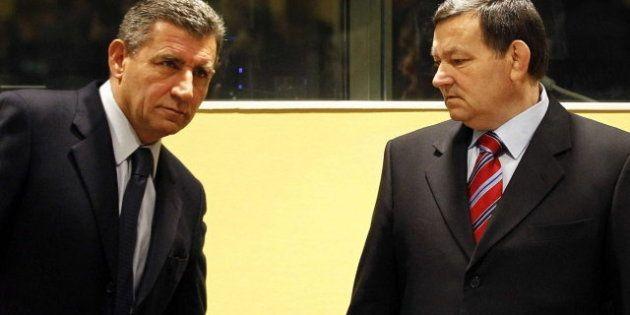 El Tribunal de La Haya absuelve a los generales croatas Ante Gotovina y Mladen Markac, acusados de crímenes...