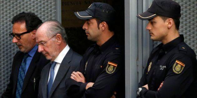 Rato presenta un aval bancario para hacer frente a la fianza de 3 millones de
