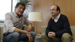 Fernández e Iceta acuerdan crear una comisión para abordar sus