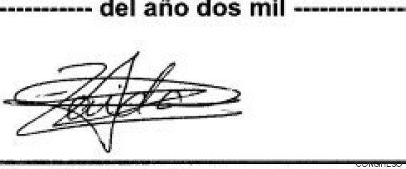 Así son las firmas de nuestros