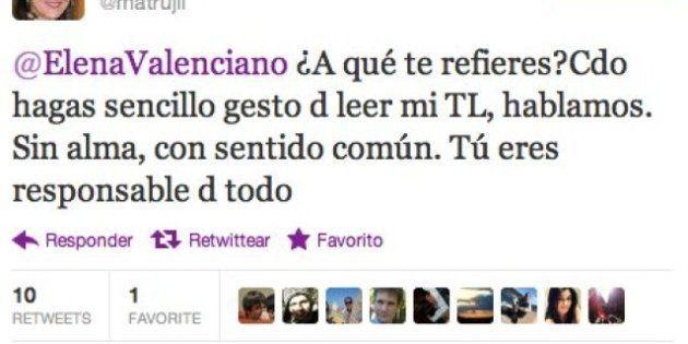 La exministra socialista Trujillo se enzarza con Valenciano vía Twitter por los