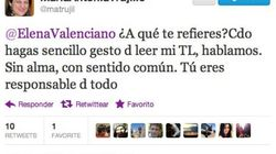 La exministra Trujillo se enzarza con Valenciano vía