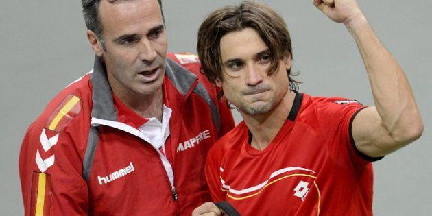 Copa Davis 2012: Ferrer suma el primer punto de España en la final al derrotar a Stepanek (6-3, 6-4,