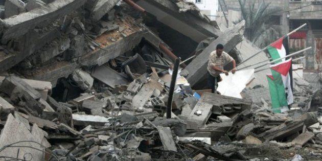 Israel bombardea la sede del Gobierno de Hamás en la franja palestina de