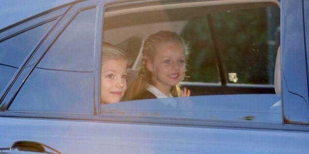 La princesa Leonor y la infanta Sofía vuelven al colegio: las fotos del primer día de