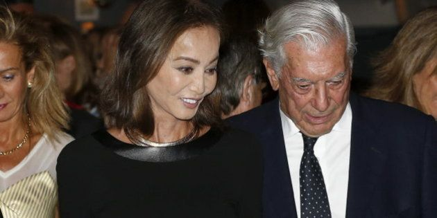 Isabel Preysler y Mario Vargas Llosa, de gala en el Teatro