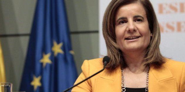 La ministra de Empleo, Fátima Báñez, asegura que