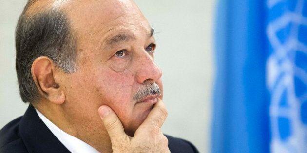 Carlos Slim: De la broma radiofónica y los mensajes en Twitter a la salvación del