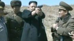 El peculiar vídeo de Kim Jong-un supervisando los drones