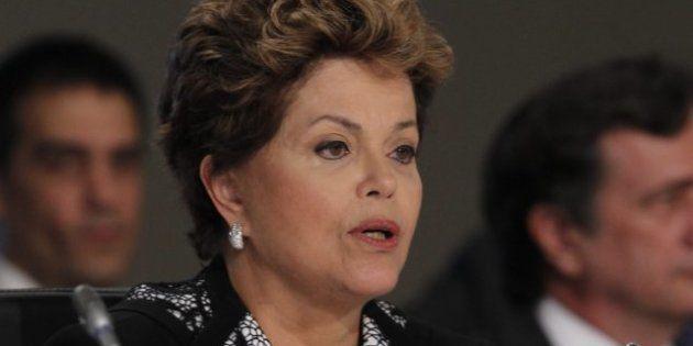 Dilma Rousseff, presidenta de Brasil: