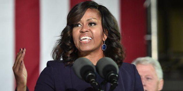 La repuesta de Michelle Obama cuando le piden que se presente a las