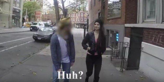 La genial respuesta de esta chica al acoso machista que sufre por la