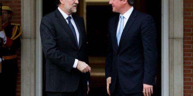 La muerte de Thatcher modifica la agenda de Cameron en Madrid y cancela la rueda de prensa junto a