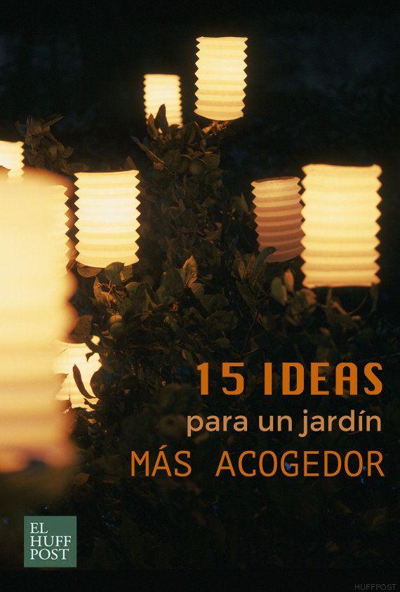 15 ideas para hacer tu jardín más