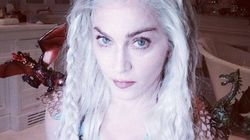 Madonna clava su disfraz de 'Juego de Tronos'
