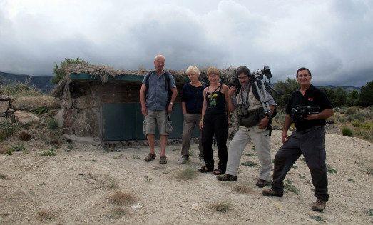 Gran bacanal de buitres en Iruelas: carroñeros al