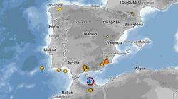 Dos terremotos de magnitud 4,8 y 4,1 se sienten en Melilla y