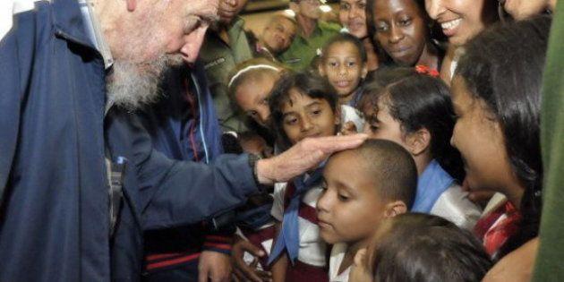 Fidel Castro, últimas imágenes: reaparece para inaugurar un colegio