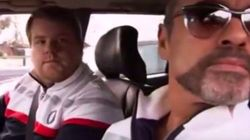 El primer Carpool Karaoke fue con George