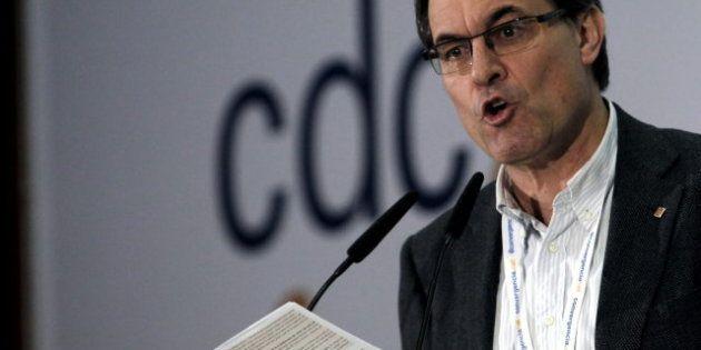 Artur Mas denuncia una campaña del Estado contra símbolos de Cataluña como