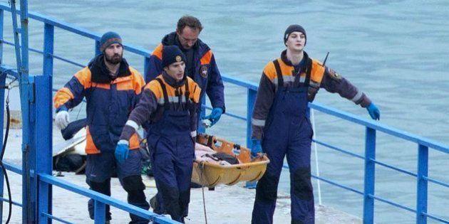 Hallan el fuselaje del avión militar ruso siniestrado en el mar