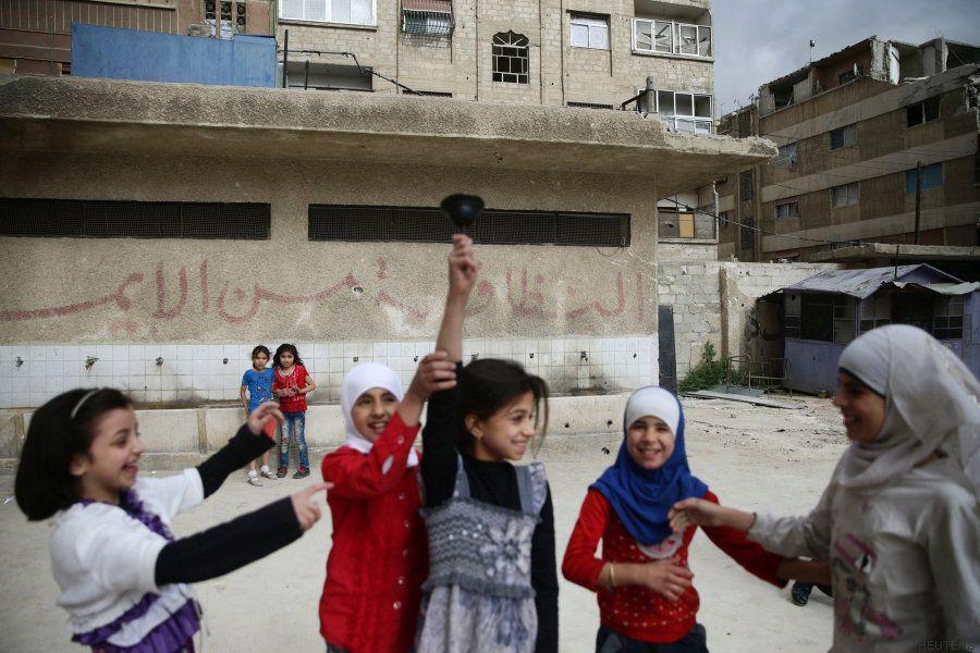 Ir al colegio en Siria: una cuestión subterránea