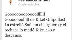 ¡Gol del Murcia!